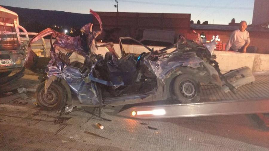 Fatal accidente en el libramiento Cuernavaca