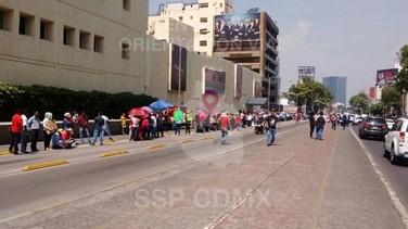 CNTE se manifestó en Televisa