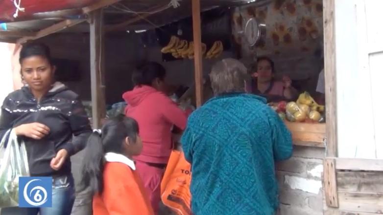 Compromisos del edil de Valle de Chalco con locatarios del mercado Márquez