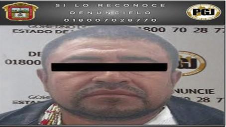 Detiene PGJEM a un probable responsable del homicidio del Subdirector de la Policía Municipal de Chicoloapan