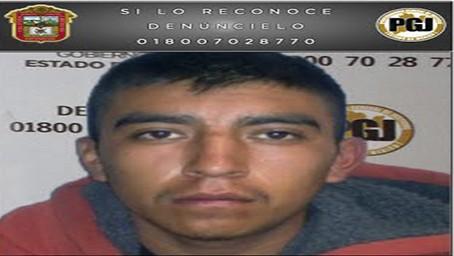 Sentencian a 43 años de prisión a un homicida detenido por la PGJEM