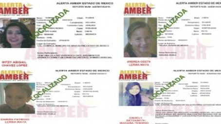 Localizan a cuatro menores reportados como desparecidos en Edomex