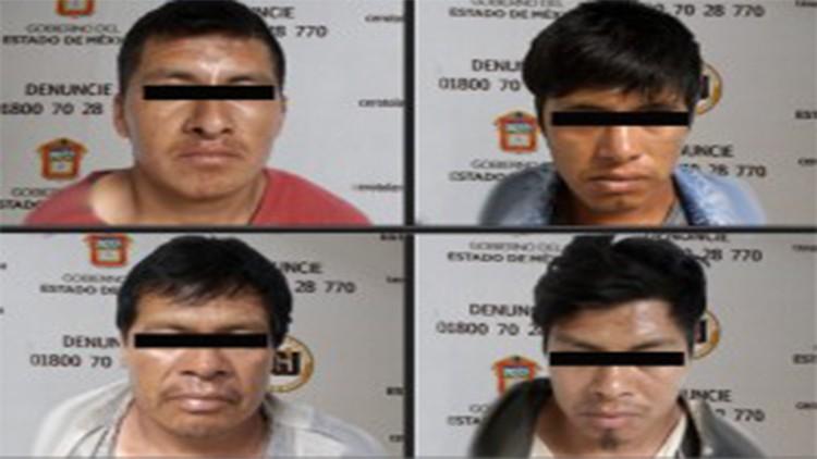 Vinculan a proceso a cuatro presuntos secuestradores en Villa Victoria