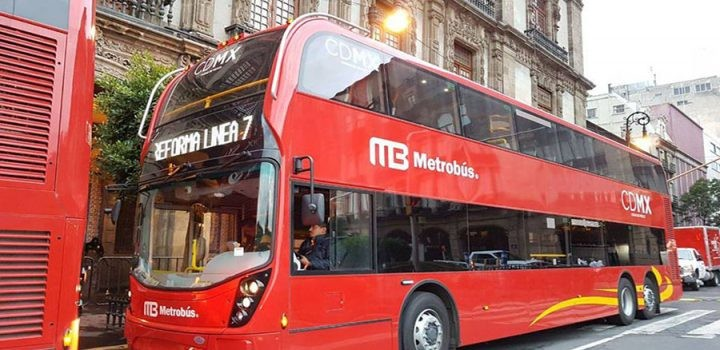 La CDMX ya tiene autobuses de la Línea 7