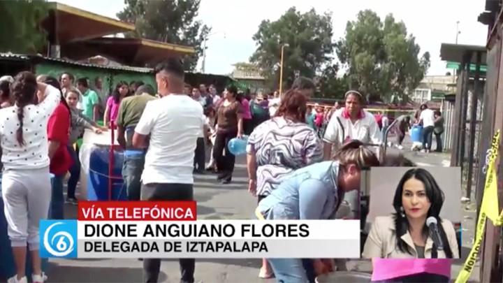 ENTREVISTA CON DIONE ANGUIANO FLORES, DELEGADA DE IZTAPALAPA