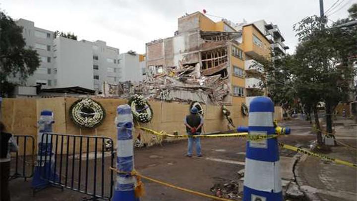 LA DELEGACIÓN BENITO JUÁREZ, UNA DE LAS MÁS AFECTADAS POR EDIFICIOS CAÍDOS