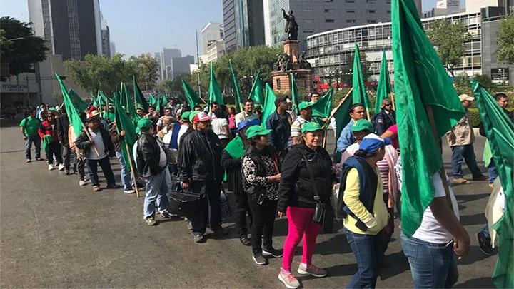 CAMPESINOS CON DOS MARCHAS EN LA CDMX, EXIGEN MÁS PRESUPUESTO AL CAMPO