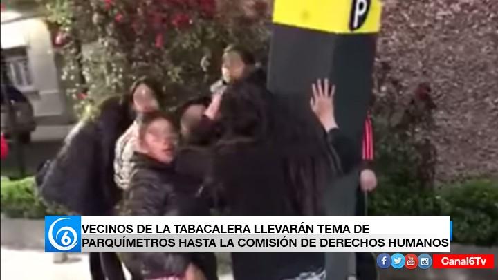 VECINOS DE LA TABACALERA LLEVARÁN TEMA DE PARQUÍMETROS HASTA LA COMISIÓN DE DERECHOS HUMANO