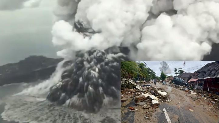 Una década después del tsunami Anak Krakatoa de nuevo mantiene en alerta a Indonesia