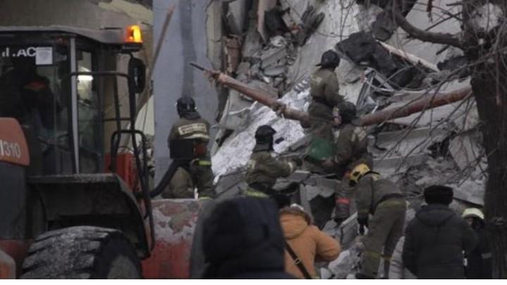 Explosión en edificio residencial en Rusia deja cuatro muertos
