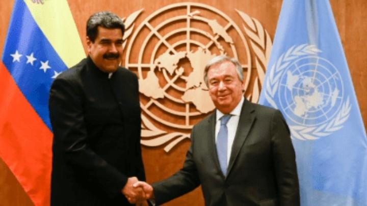 La ONU reiteró la oferta para mediar entre ambas partes de Venezuela
