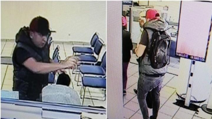 Sujetos roban 20 mil pesos en efectivo de un banco en Coyoacán