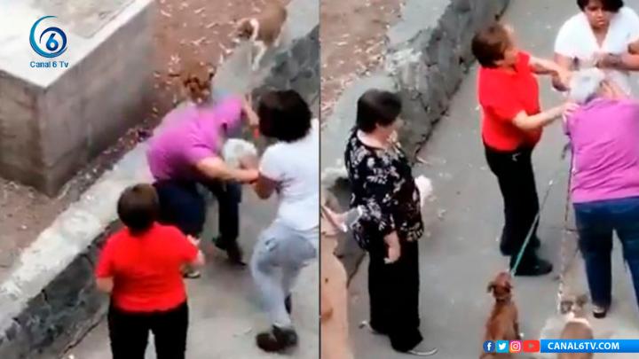 #LoViral | VIDEO: Jovencita agrede a una mujer de la tercera edad en Tlatelolco