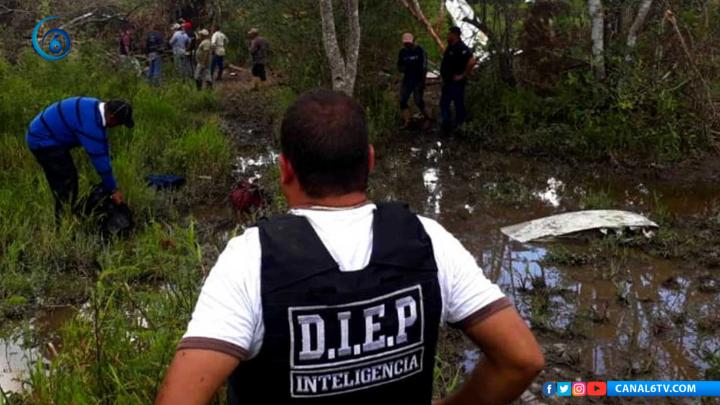 Dos mexicanos pierden la vida en Venezuela tras chocar narco avioneta