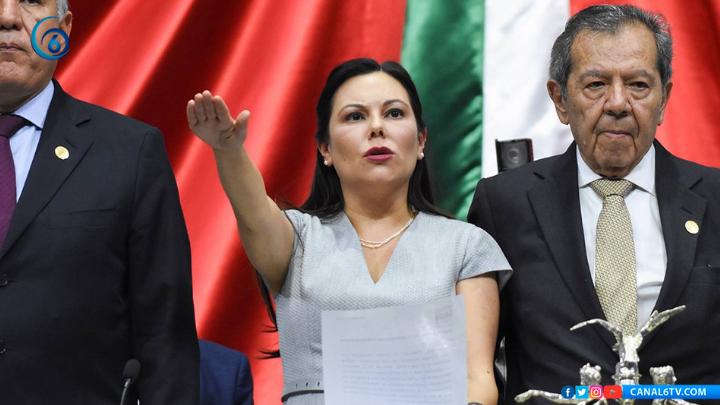 Eligen a Laura Rojas como presidente de la Cámara de Diputados