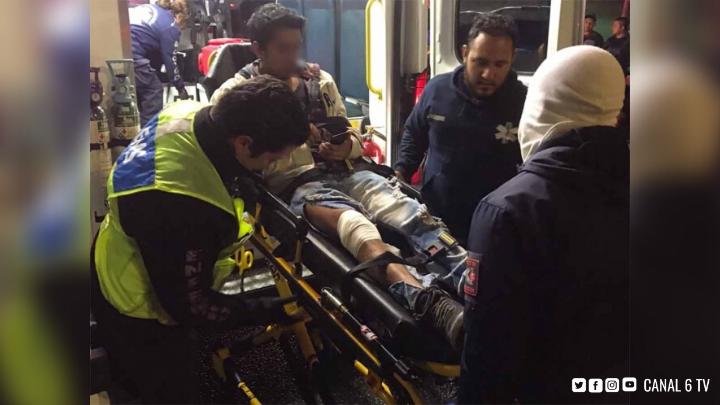 Pelea de ebrios en Metro Puerto Aéreo termina mal