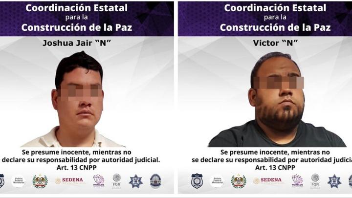Presuntos feminicidas fueron detenidos en Cuernavaca