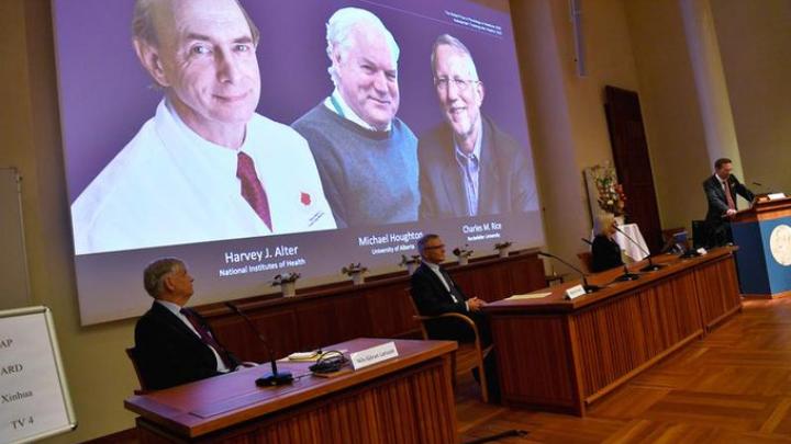Descubridores del virus de la hepatitis C ganan Nobel de medicina 2020