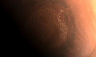 Dan a conocer nuevas fotos de Marte tomadas por sonda china