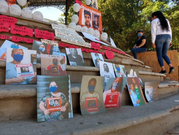 Mudan protesta por los desaparecidos a la web