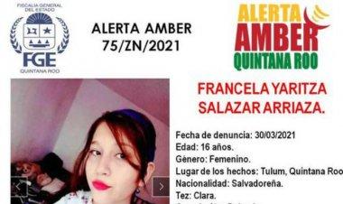 Desaparece hija de migrante salvadoreña asesinada en Tulúm