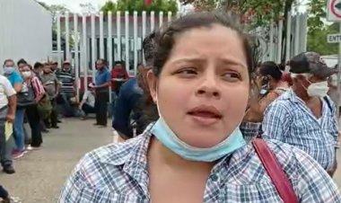 Protestan en Villahermosa por falta de apoyo por inundaciones