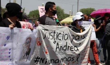 Familiares de Andrea piden que su muerte no quede en la impunidad