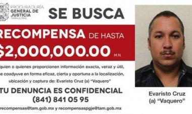"Capturan a ""El vaquero"", líder del cártel del golfo en Tamaulipas"