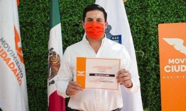 Detienen a candidato de MC en Nuevo León con armas y droga