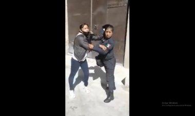 Graban presunto caso de abuso policial en Tlalmanalco