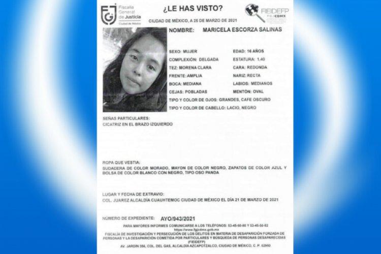 Encuentran muerta a menor Otomí desaparecida en la colonia Juárez