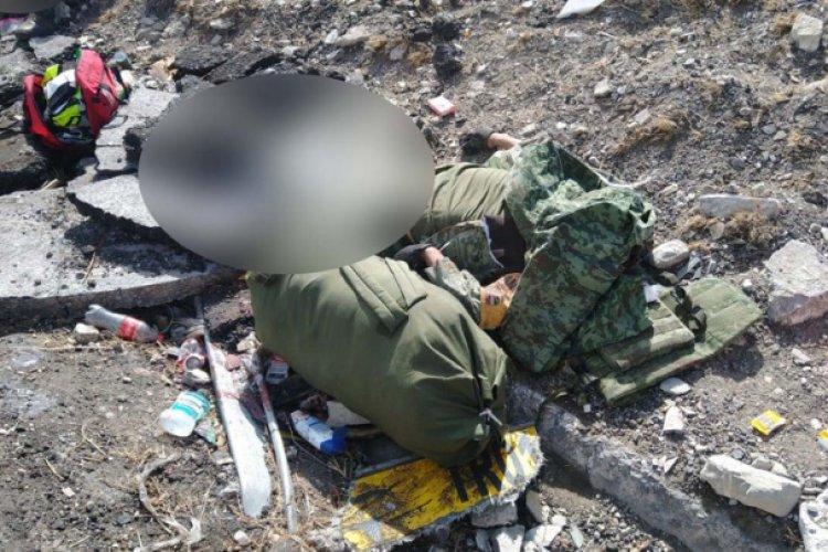 Vuelca camión militar en la Puebla-Orizaba; hay dos muertos