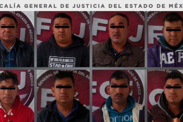 Procesan a ocho sujetos por robo de mercancía valuada en 780 mil pesos