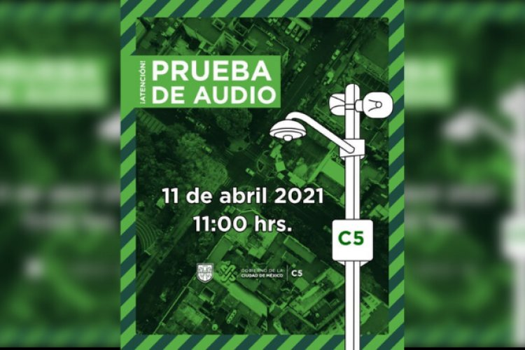 Próximo 11 de abril será la prueba de audio de la alerta sísmica
