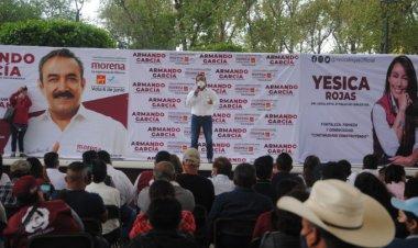 Armando García Méndez por el triunfo el próximo 6 de junio