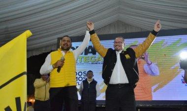 Inicia campaña Omar Ortega Álvarez por el distrito 38, Coacalco