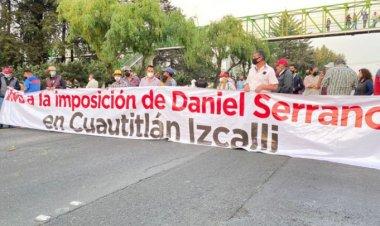 Bloquearon paseo Tollocan en Toluca por designación de candidatos de Morena