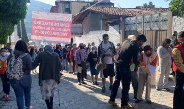 Inicia aplicación de segunda dosis de vacuna en 17 municipios mexiquenses