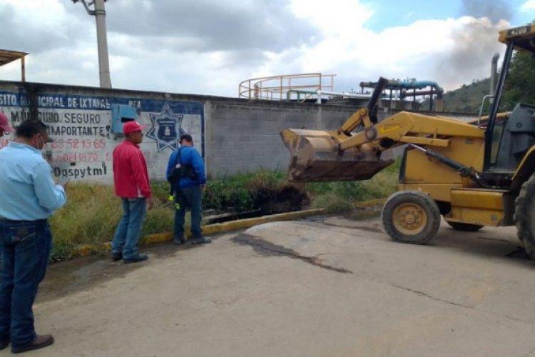 Realizan estudio para reparar socavón en Geovillas de Jesús María