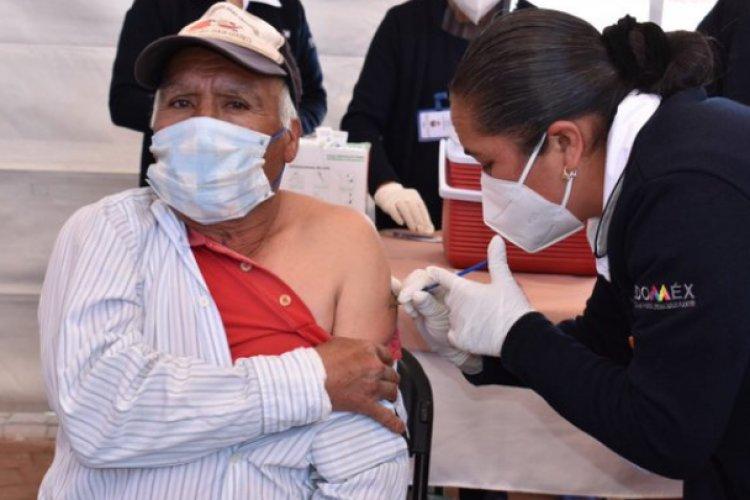 Edomex es la entidad con más población vacunada contra  Covid-19