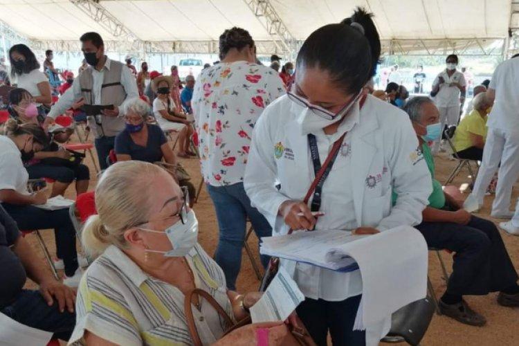 Este jueves llega segunda dosis para abuelitos de Villa de Allende y Amatepec