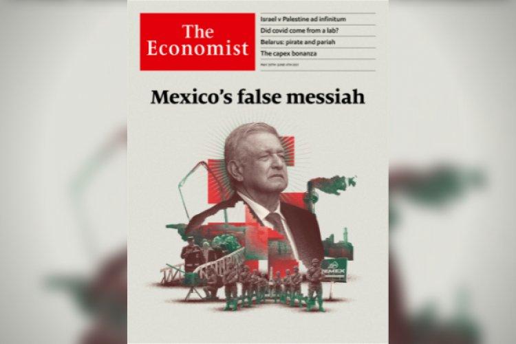 """AMLO es un """"falso mesías"""" y un peligro para la democracia: The Economist"""
