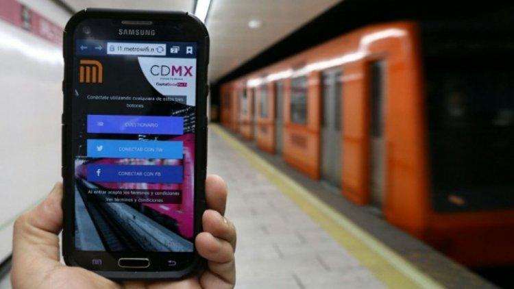 Líneas 5 y 6 del Metro ya tienen internet gratis