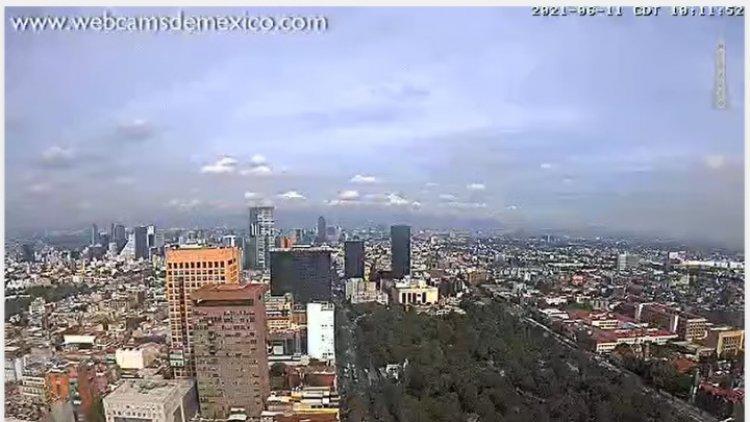 Prevén fin de semana nublado y lluvioso para el Valle de México
