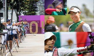 Equipo de tiro con arco femenil de México avanza a cuartos de final