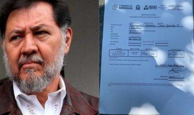 Da positivo a Covid-19 el diputado petista Gerardo Fernández Noroña