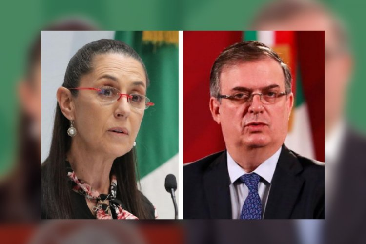 """Cualquiera puede participar"": Sheinbaum sobre destape de Marcelo Ebrard"