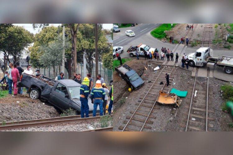 Dos personas fallecen en aparatoso accidente en Toluca-Palmillas