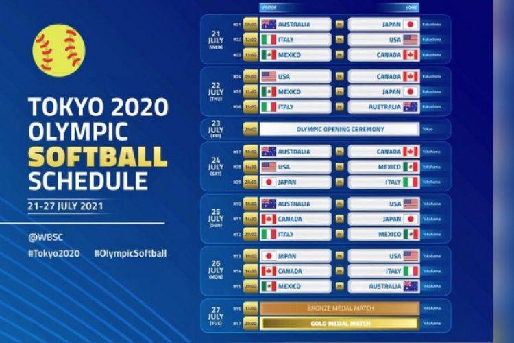 México inicia participación en Tokio 2020 con derrota en sóftbol
