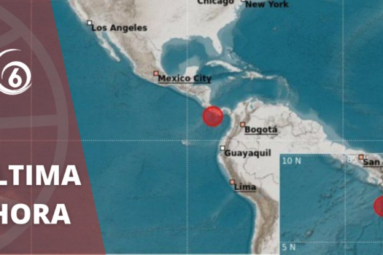 Se registra sismo de siete grados en Panamá